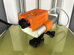 Runcam 2 GoPro mount with Xiaomi Mi Power Bank
