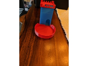 Quick Print Dice Tower