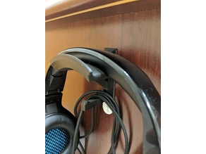 Command Strip Headphone Holder remix