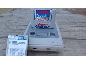 Super Gameboy Cartridge for Roshambo SFC Retro Gaming Case