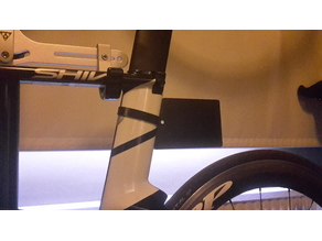 Bike number plate for triathlon