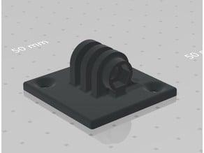 GoPro wall mount