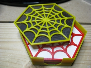 Spider's Web Coasters