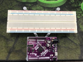 Adafruit Metro M4 Express and Breadboard Holder