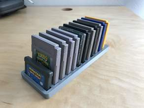 Gameboy Cartridge Holder