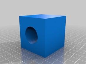 2x2x2 cube with 1x1x2 hole