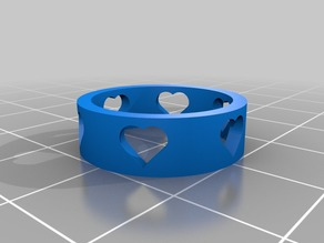My Customized Heart Ring 6.5