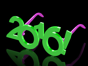 2016 Happy New Year Fun Glasses