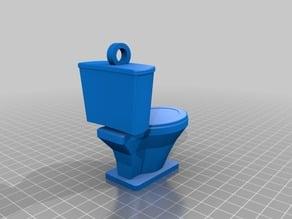 Toilet Key Chain