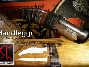 Handleggr - Airsoft 40mm blunderbuss