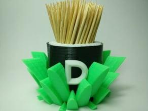 Toothpick maki