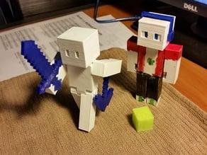 Tighter Fit Minecraft Steve