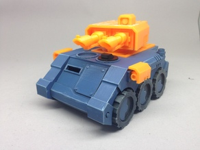 Turret Conversion Kit for Wheeled APC