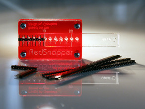 RedSnapper - The Compact and Precise Pin Header Adjustment Tool - 2.54mm Pitch
