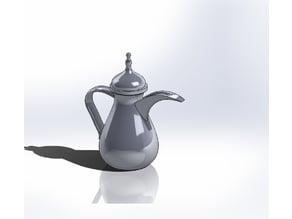 Arab Tea Pot 28mm scale