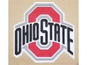 Ohio State University Logo (OSU Buckeyes!) Plaque