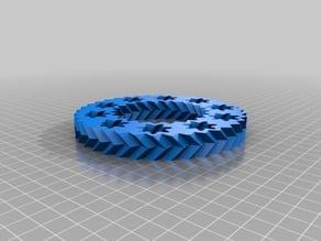 2.5mm clearance gear bearing