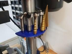 Drill Press mount for Forstner bits