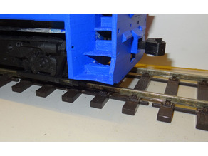 Knuckle couplers for the 1/32 OpenRailway EMD SW1500