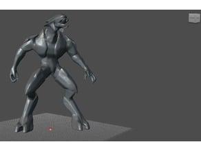 Halo Elite Model