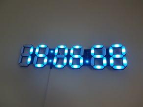 RVB Leds Clock (Horloge LEDS RVB)