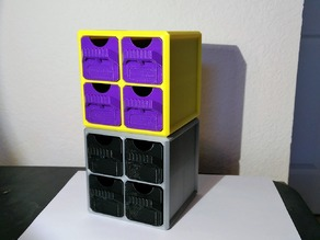 Stackable Cube Drawer Organizer
