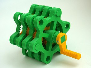Stackable Planetary Gear Mechanism (Reducer)