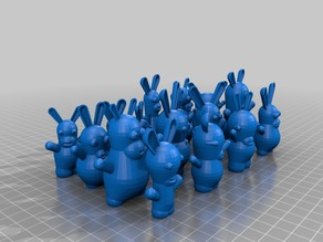 My Customized Configurable pack of rabbits