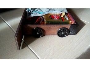 Plinth drawer (basement) for kitchen