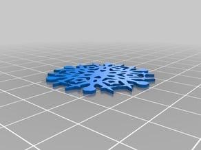 Randy's Customized Cut Snowflake #1