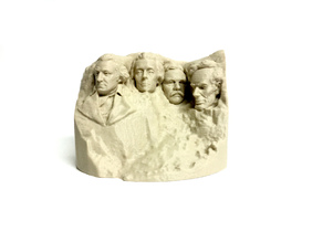 Stylized Mount Rushmore