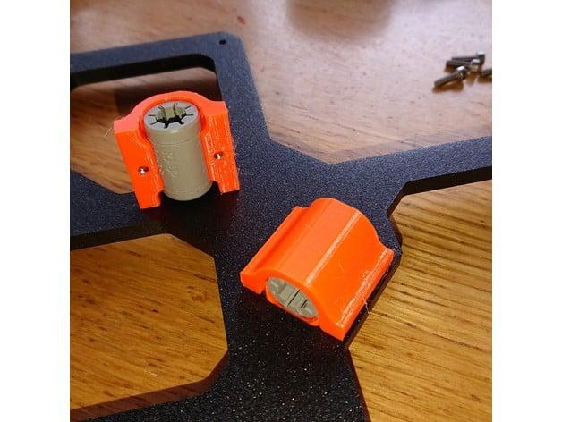 Prusa MK3 x/y adapter kit for igus RJ4JP bearings by loskexos