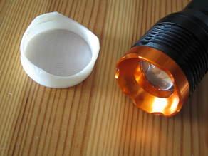 Flashlight Diffuser (adjustable)