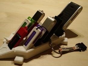 Spino 2 USB Stick Organizer