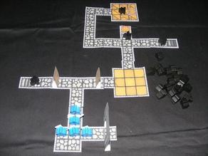 Meeple Crawl Board Game