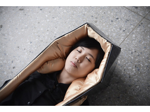 Wearable Coffin (shared paper folded files)