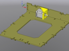 y-axis motor support