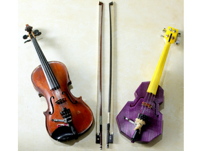 MakerBot 3D Printed Violin (Design Inspiration from David Perry of Openfab PDX)