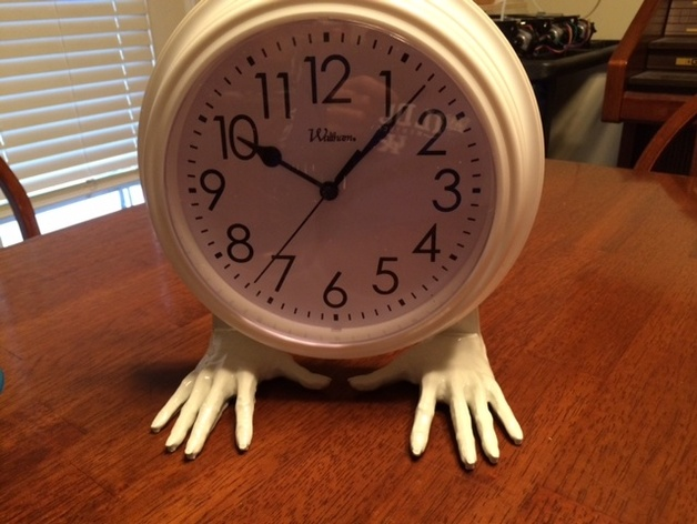 Clock Hand Stand By Jerrill Thingiverse