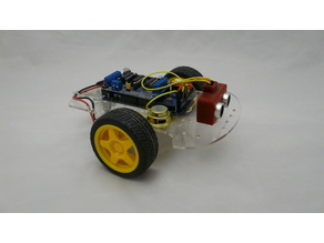 arduino robot support pour batterie