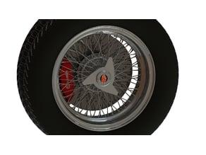 Borrani RW 3687 Wire Wheel-Pirelli 185VR16-Ferrari California 250GT