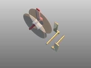 Spool holder for Up!3D