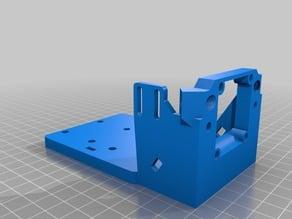 FLSUN Cube Dual printhead Mount remix