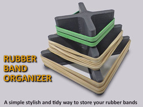 Rubber Band Organizer