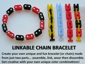Customizable Link Bracelet