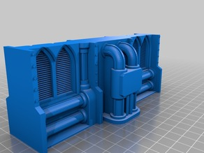 Necromunda wall's with pipes