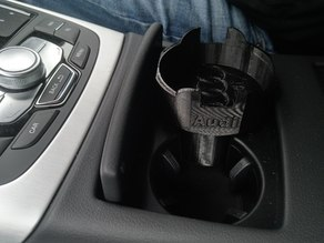 Audi A6 coffee cup holder