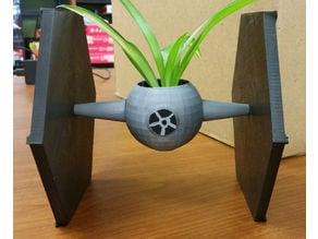 Star Wars TIE Fighter Planter