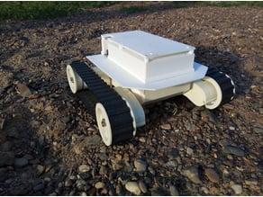 Robot platform based on DAGU Rover 5