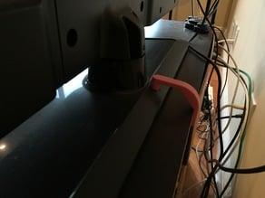 Earthquake bracket for LG TV